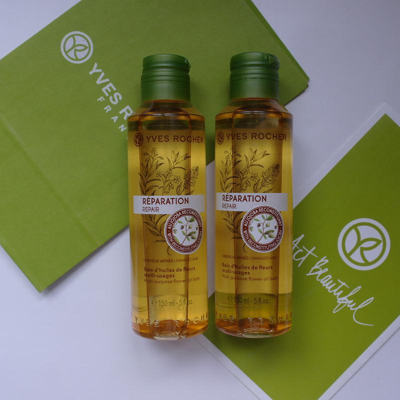 Восстанавливающее масло для сухих волос ив роше yves rocher