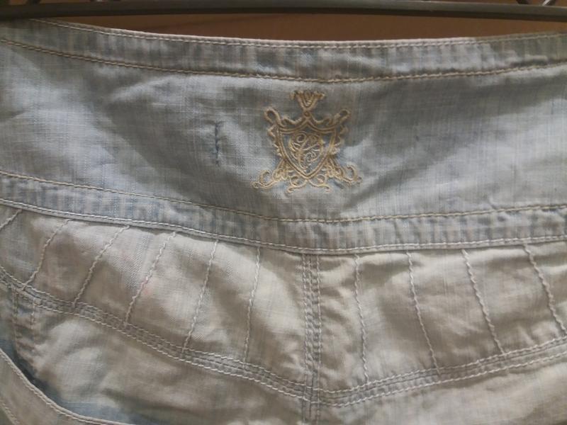 ;джинсовые бриджи            распродажа - Фото 6
