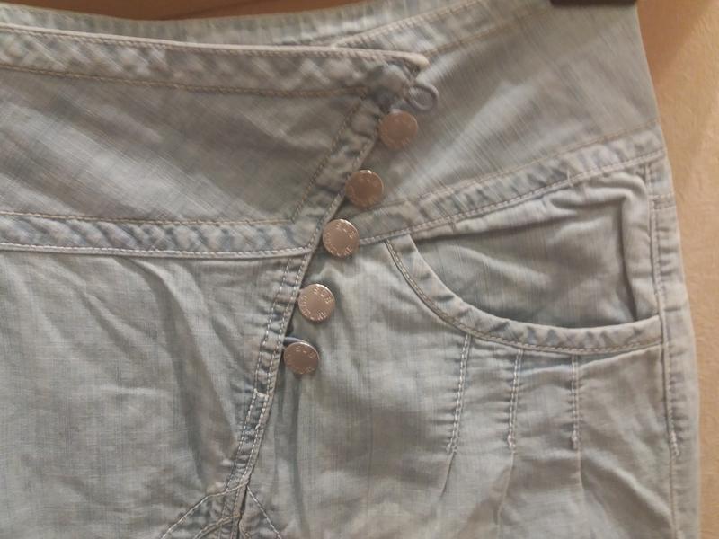 ;джинсовые бриджи            распродажа - Фото 7