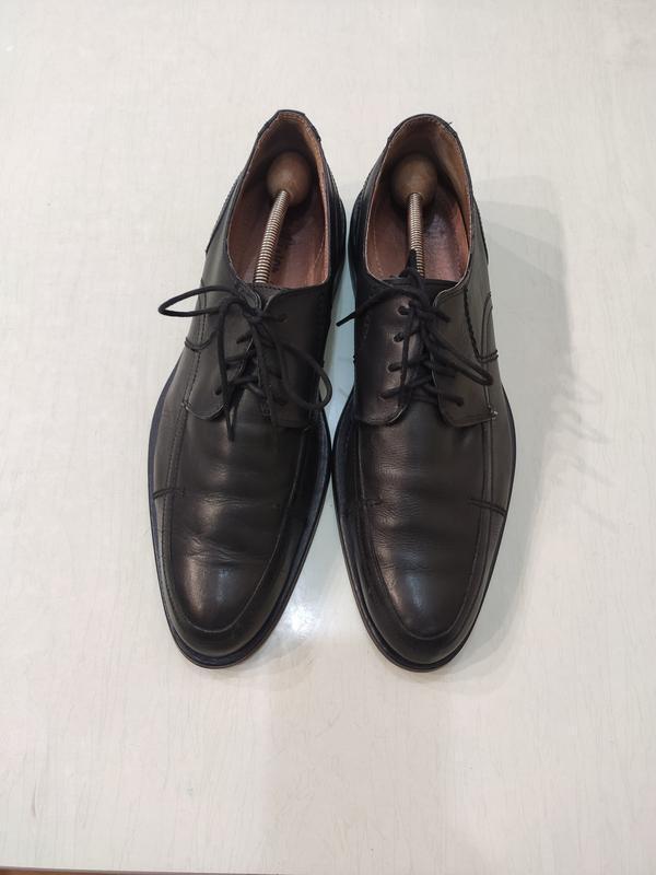 S.oliver черные кожаные туфли дерби