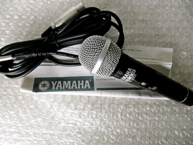 Микрофон динамический Yamaha YM-3000 новый,кардиоидный,выключател