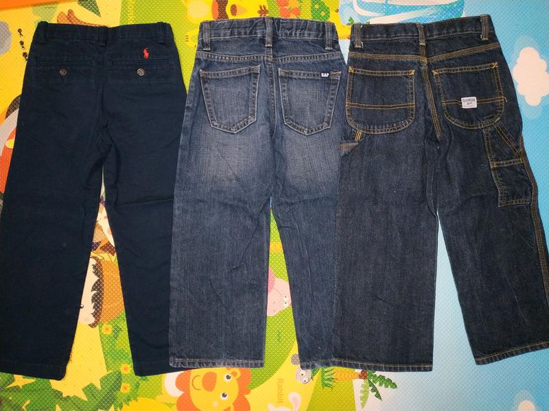 Джинсы брюки штаны мальчика 4 - 5 лет, 116 см, Gap, Oshkosh, Polo