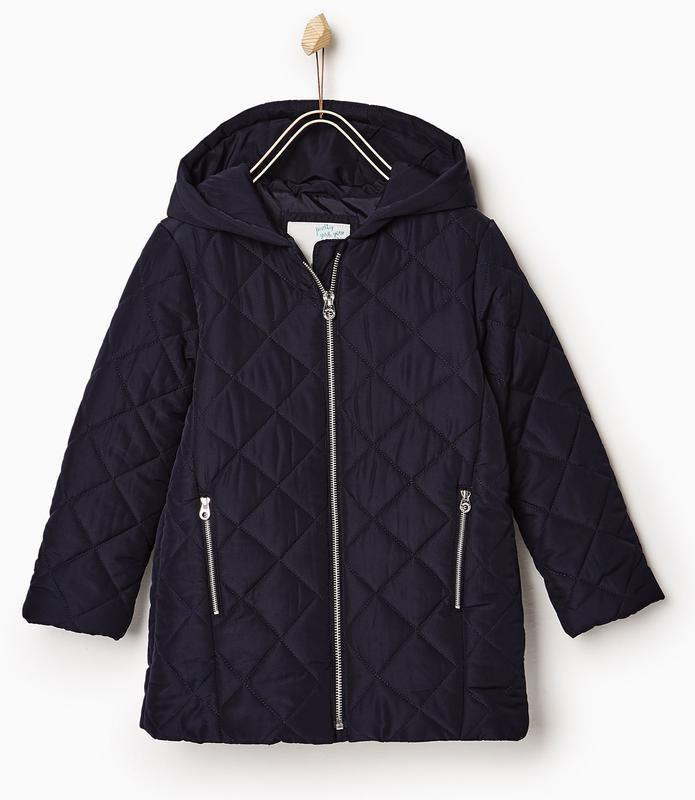 Стеганая курточка zara на 4 года