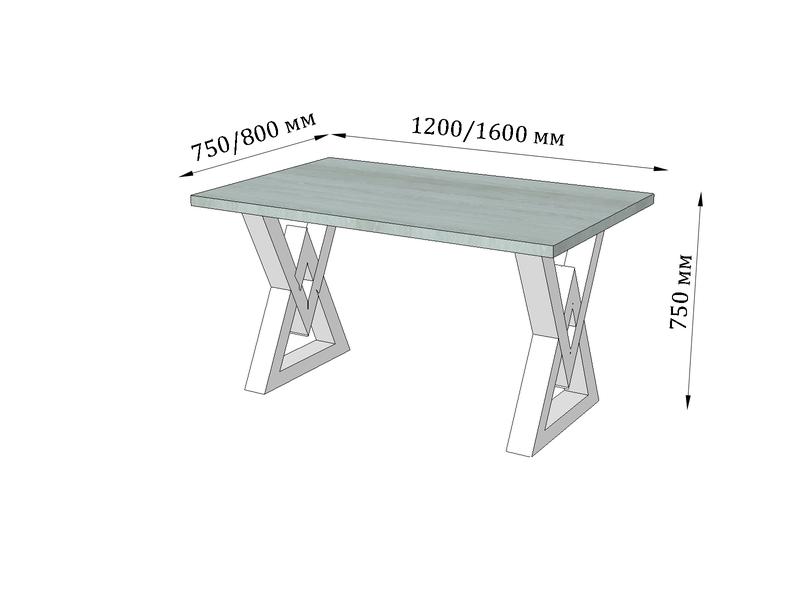 Стол 1200*750мм - Фото 3