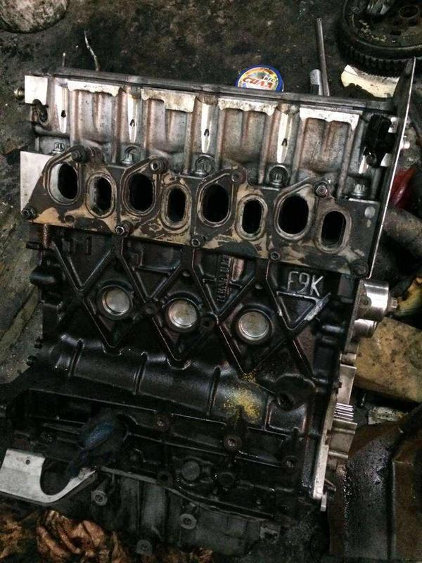 Б/у двигатель Renault 1.9dci ,F9K, Laguna, Trafic, Scenic, Megane