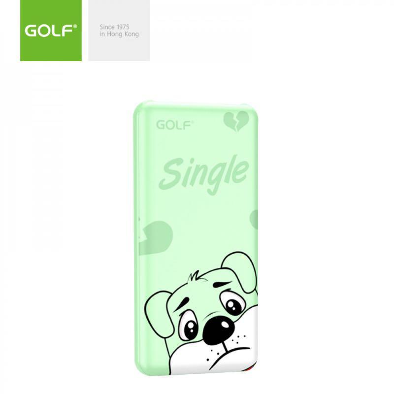 "Внешний аккумулятор Power Bank ""Golf G56"" 10000mAh Cartoon Patter - Фото 3"
