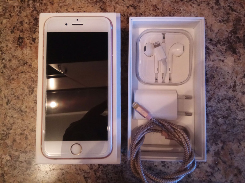Iphone 6s 32 gb.rose gold - Фото 2