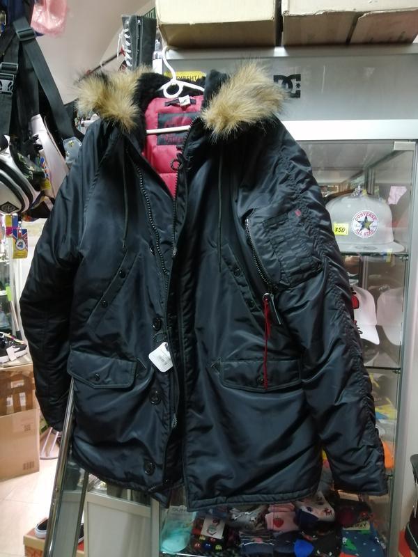 Куртка пуховик зимняя аляска alaska chameleon - Фото 2