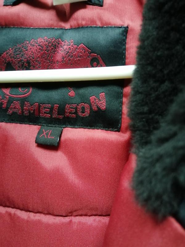 Куртка пуховик зимняя аляска alaska chameleon - Фото 4