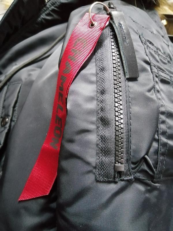 Куртка пуховик зимняя аляска alaska chameleon - Фото 5