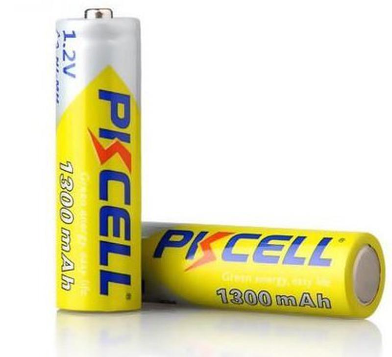 Аккумулятор Pkcell 1,2 v АА 1300 mAh 4шт.