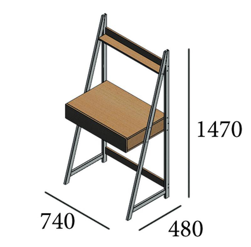 Рабочий стол, стол компьютерный письменный - Фото 2