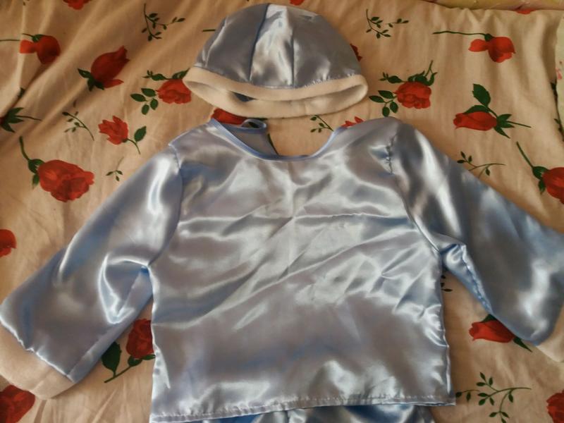 """Новогодний костюм для мальчика в детский сад """"Снежок"""" - Фото 2"""