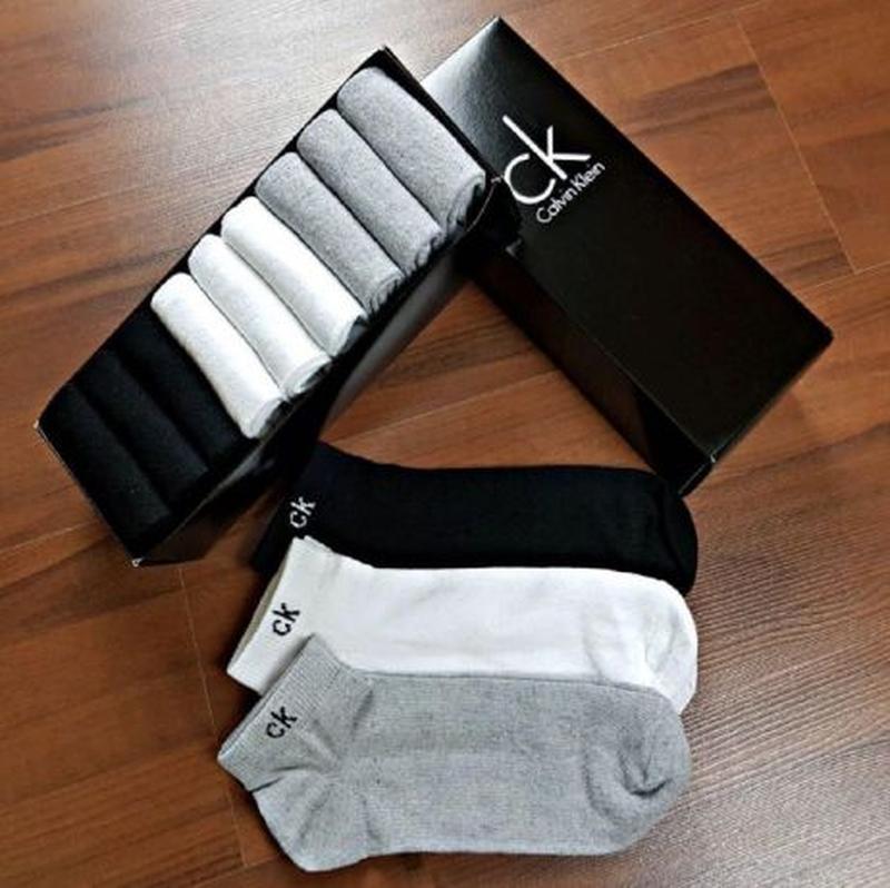 Мужские носки Calvin Klein 9 пар в фирменной коробке!