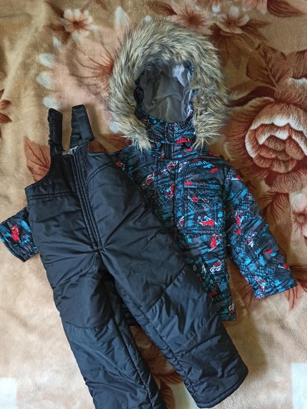 Зимний комбинезон, куртка лыжные штаны комбез комбінізон пухов...