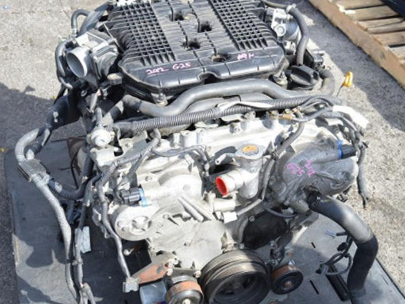 Разборка Infiniti EX25 (J50), двигатель 2.5 VQ25HR.