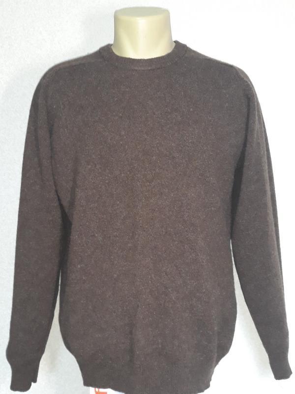 Классический свитер мужской 100% шерсть