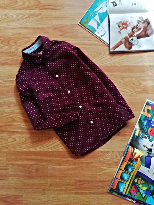 Детская стильная брендовая рубашка для мальчика h&m - возраст ...
