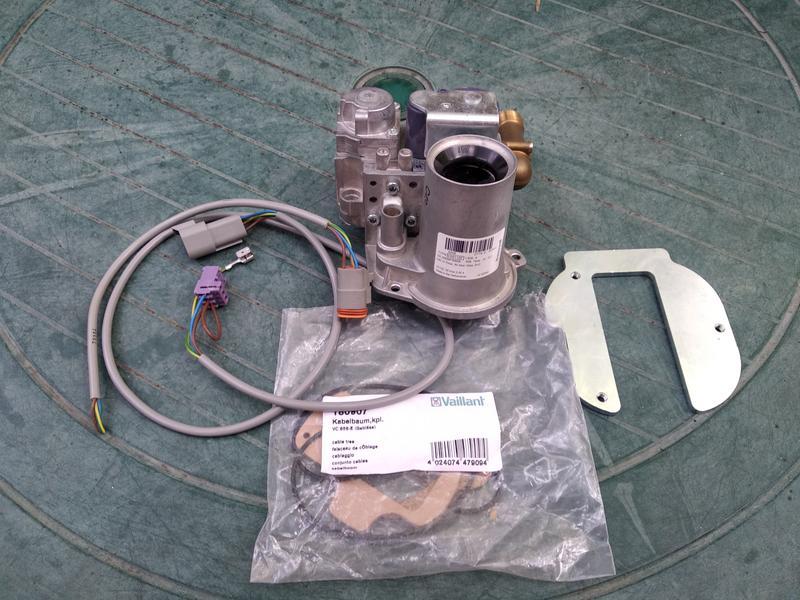 Газовый автомат для конденсационного котла Vaillant - Фото 2