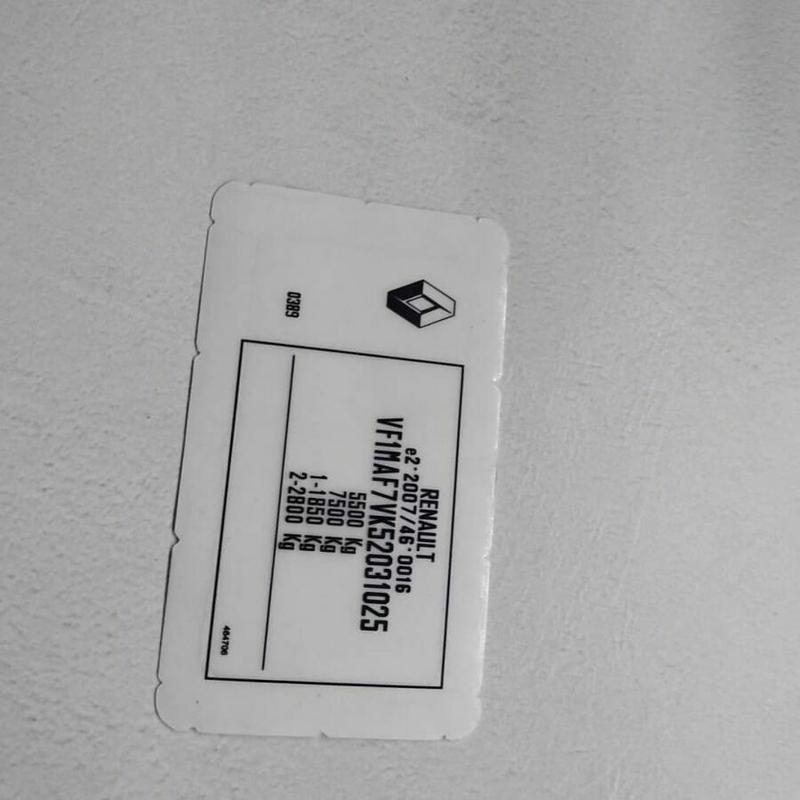 Изготовлени номерной части VIN Kod(Вин кода)(номер кузова) - Фото 4