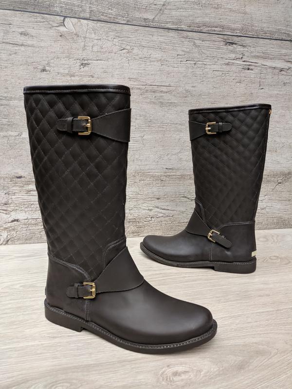 Massimo dutti женские резиновые ботинки / сапоги 100% оригинал...