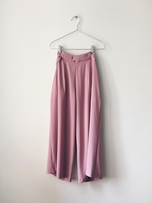 Новые нежно-розовые кюлоты из струящейся ткани miss selfridge ... - Фото 9
