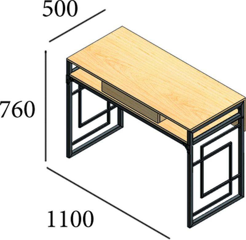 Рабочий стол, компьютерный стол, письменный стол для дома и офиса - Фото 2