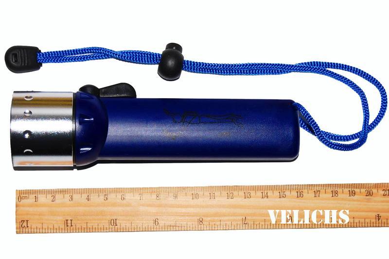 Фонарик для дайвинга и подводной охоты DIVING LIGHT - Фото 7