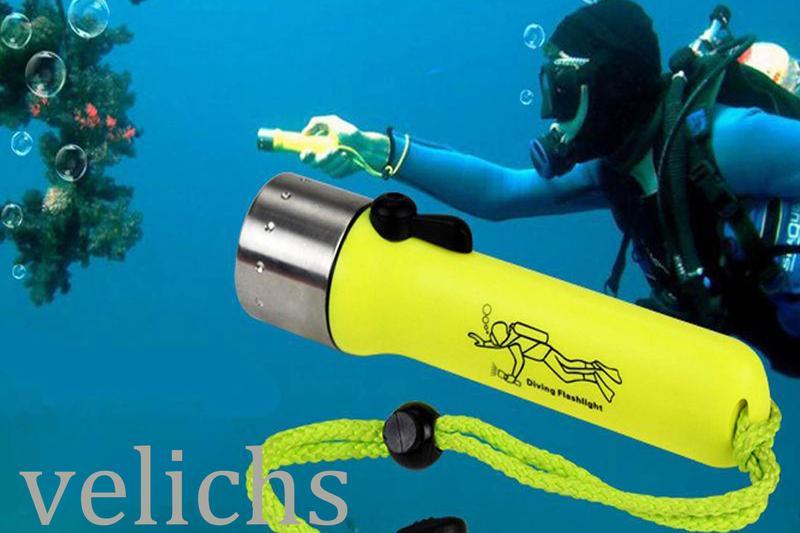 Фонарик для дайвинга и подводной охоты DIVING LIGHT - Фото 12