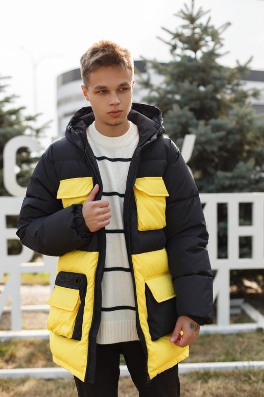 Куртка пуховик - Фото 2