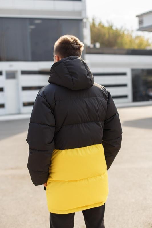 Куртка пуховик - Фото 4