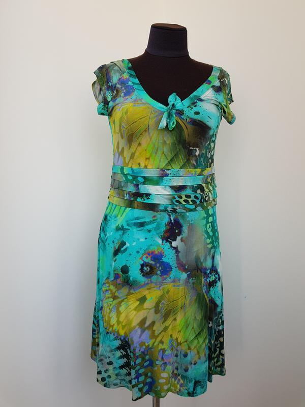 Яркое платье paola