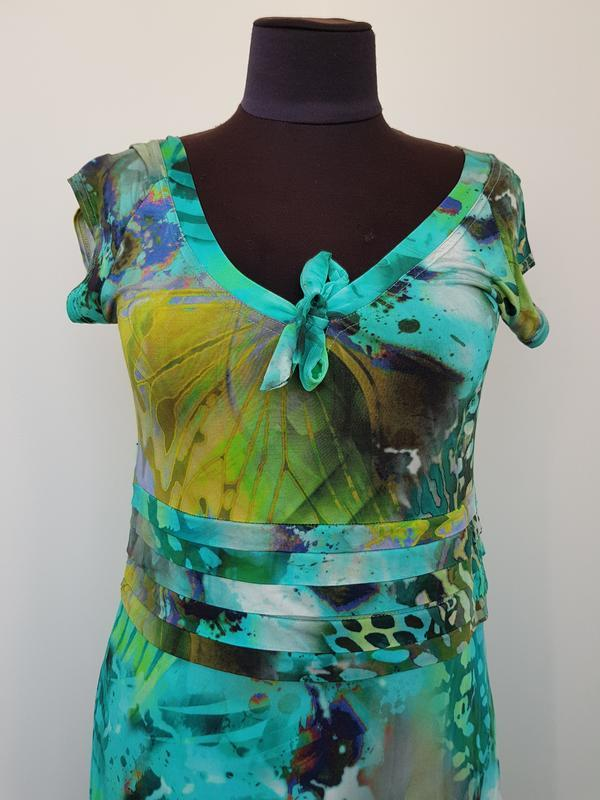 Яркое платье paola - Фото 4