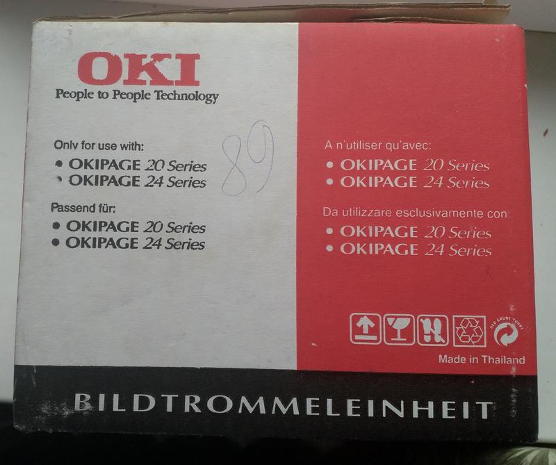 Оригинальный барабан Oki Type 7 Drum ОKI41019502 OkiPage 18-24Ser - Фото 2