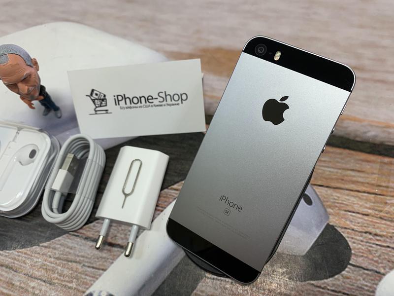 Apple iPhone SE 32gb Space Gray NEVERLOCK комплект,гарантия.