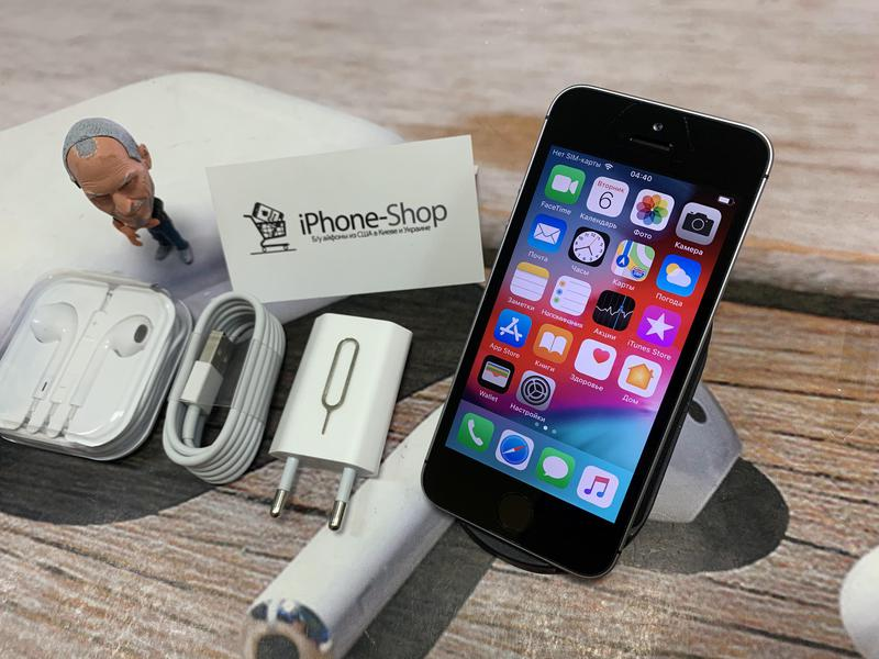 Apple iPhone SE 32gb Space Gray NEVERLOCK комплект,гарантия. - Фото 2