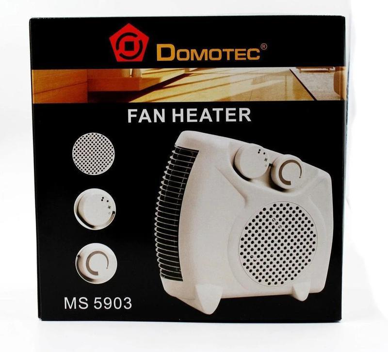 Тепловентилятор Domotec MS 5903 / Электро обогреватель - Фото 2