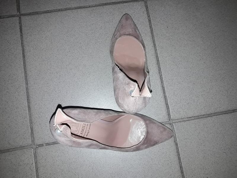 Туфли лодочки  босоножки шпилька жемчужина - Фото 3