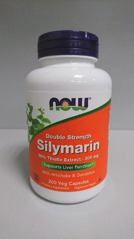 Силимарин Now Foods двойной концентрации, 300 мг, 200 капсул