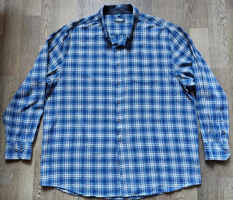 Мужская рубашка Easy, размер XXL с длинным рукавом