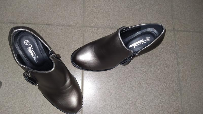 Туфли полуботинки ботинки  каблук ботильоны - Фото 2