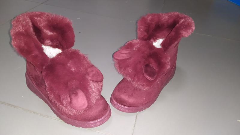 Ботинки ушки деми евро женские
