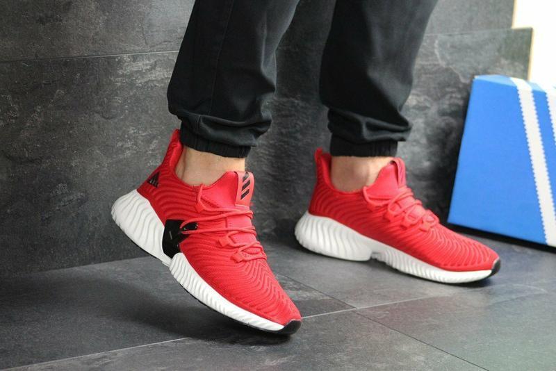 Кроссовки мужские adidas alphabounce текстиль