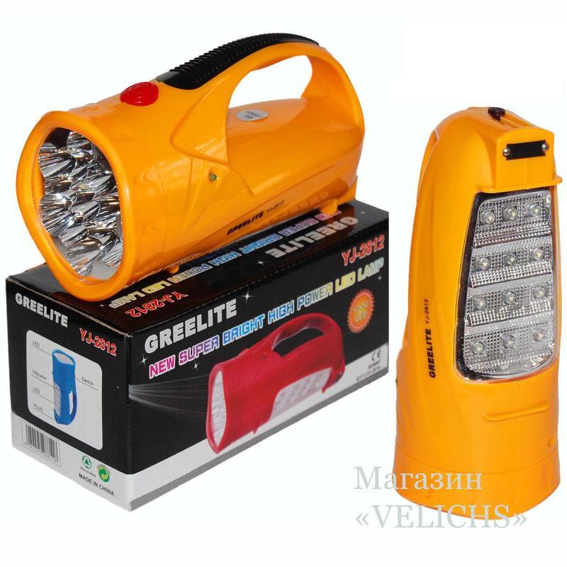 Аккумуляторный фонарик Yajia YJ-2812