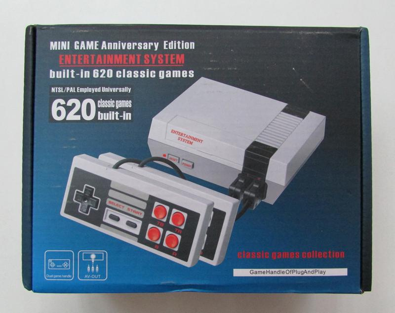 Mini game NES 620 classsic games 8bit