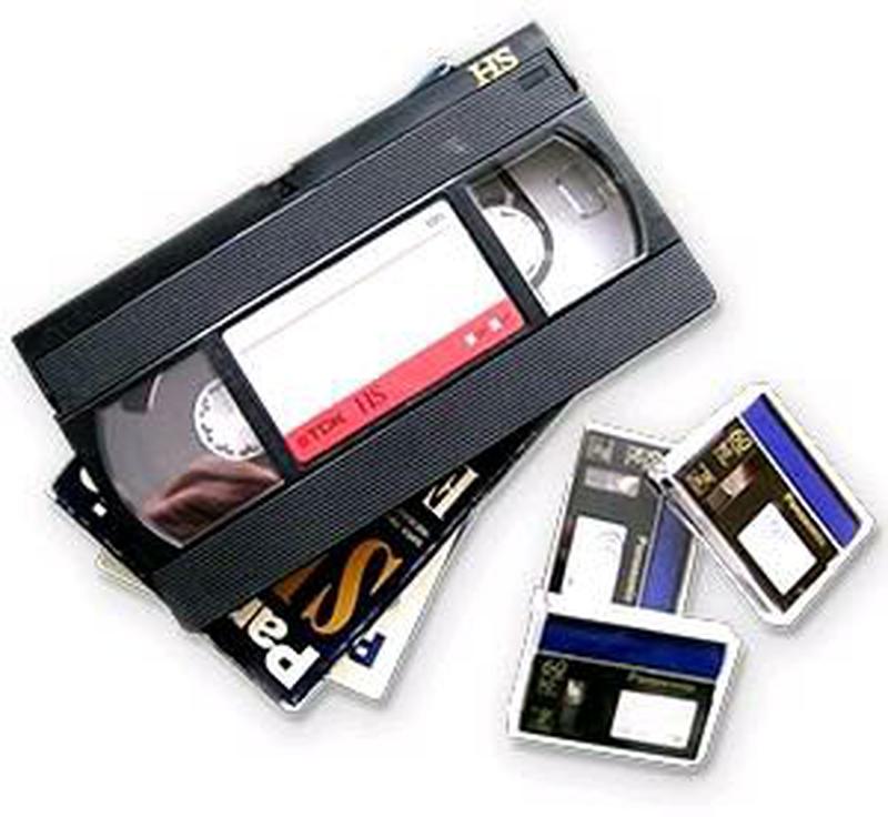 Оцифровка видеокассет на диск или флешку