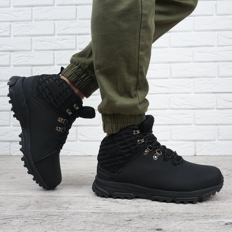 Ботинки зимние кожаные - Фото 2
