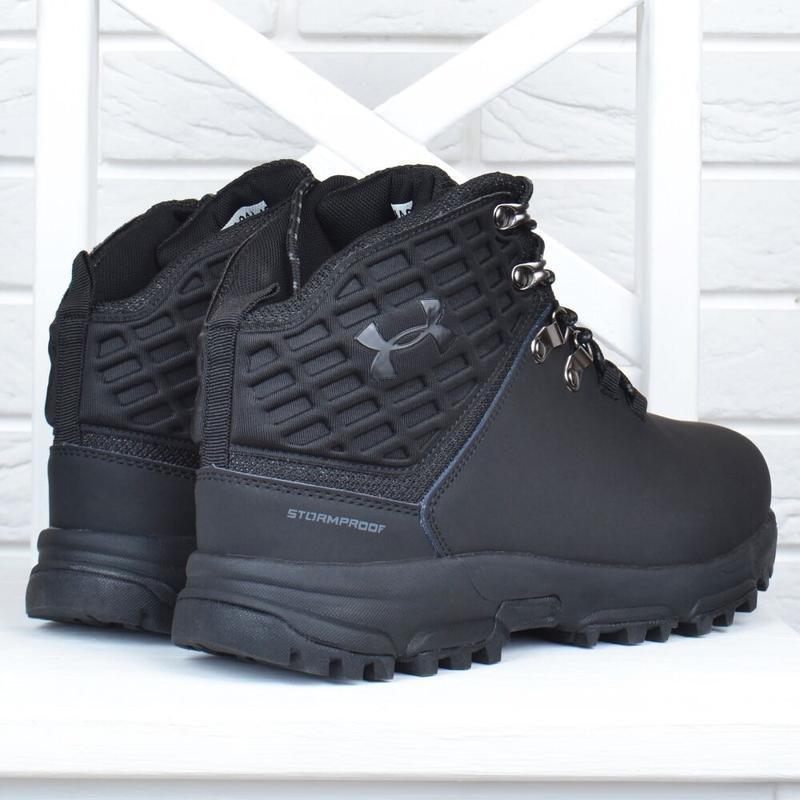 Ботинки зимние кожаные - Фото 3