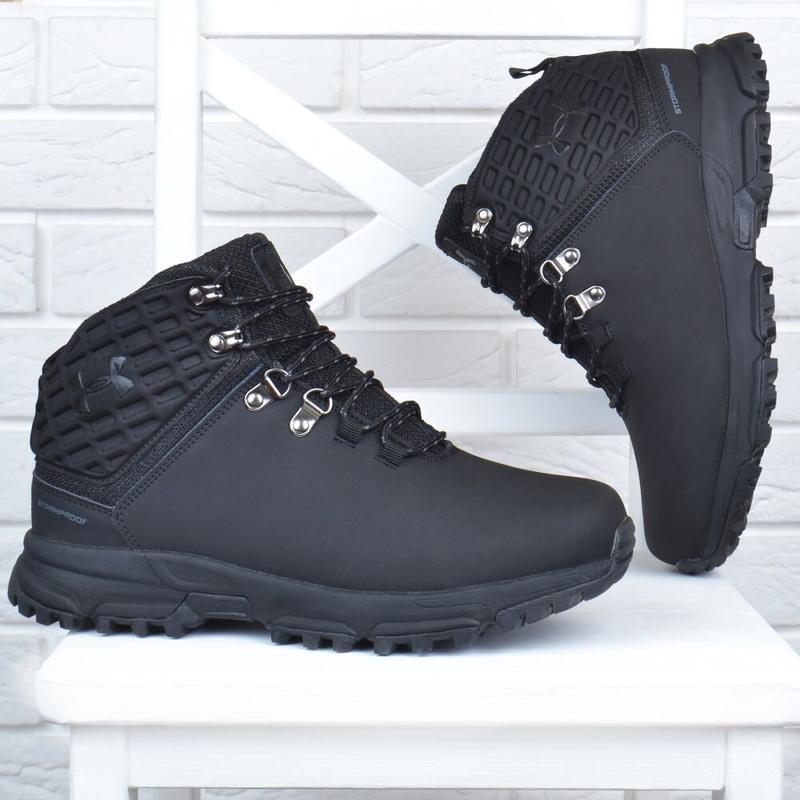 Ботинки зимние кожаные - Фото 4