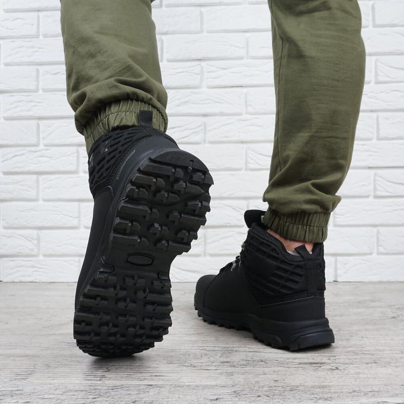 Ботинки зимние кожаные - Фото 5